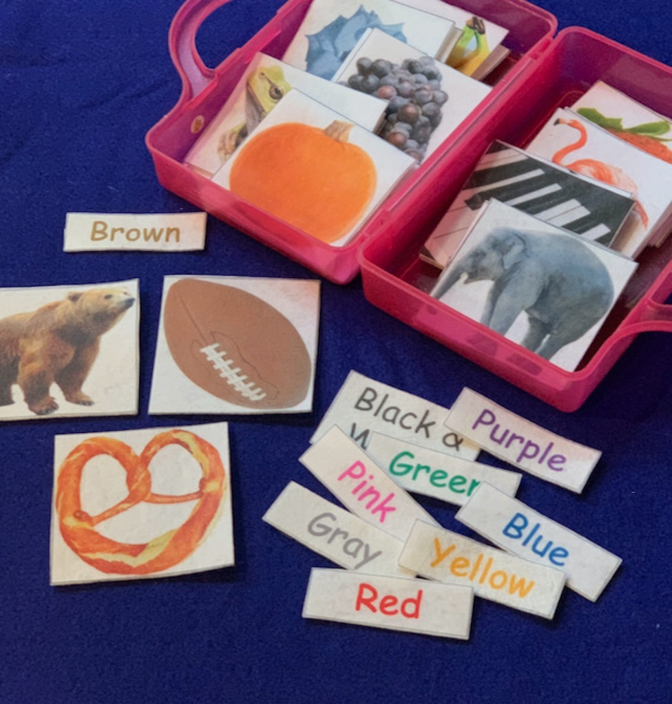 Kids Felt Board Sets - Learn and Teach Preschool Colors. Preschool Color Activities. Color Sorting and Matching.